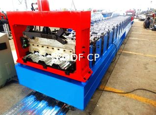 Motorized 0.8MM - 1.2MM Roll Forming Machine Professional With 28 Stations