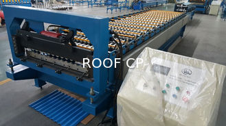Corrugated / Wave Roofing Sheet Roll Forming Equipment Roof Tile Cold Forming Machine Made in China