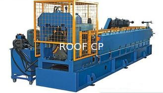 China Color Steel Vaulting Cap Roll Forming Machine For Metal Roof Ridge Tile Separated Water Easily Automated Operate supplier