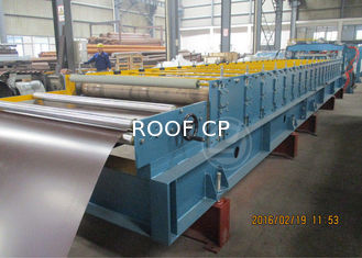 Glazed Metal Tile Cold Roll Forming Machine with Hydraulic Punching Device