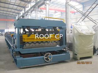 Roof Profile Mechanical Transmission Roll Forming Machine for Steel Structure Building