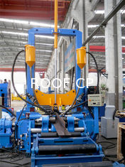 China China Light Duty H Beam Welding Line Automatic Welding Machine With High Efficiency 3 in 1 Combination Machine supplier