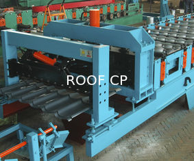 Feeding Coil 1000 mm Galvanized Metal Roofing Panel Machine supplier