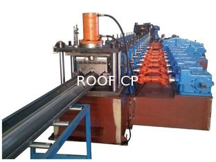 China China High Quality 2 Waves Highway Guardrail Roll Forming Machine Drived By 13 sets High Strengthen Rollers supplier