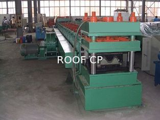 Countryside Road Construction Crash Barrier Guardrail Forming Machine Gearbox Driven 3 mm Plate Thickness