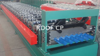 High Accuracy Japan Panasonic PCL Control Roof Panel Roll Forming Machine For House Roof Tiles