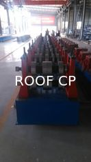 Professional Automatic Highway Guardrail Roll Forming Machine 380v 3 Phase 50hz Two Waves