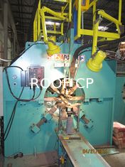 HFH Autoamatic Arc Light Pole Seaming and Welding Machine Used in Argetinia South American Market