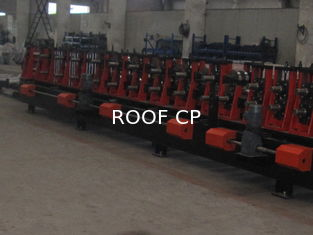 C & Z Purlin Interchangeable Carbon Steel Cold Bending Machine / Metal Roll Forming Machine