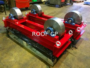 11023 Pound Conventional Tanks Pipe Rotator Use VFD Change Linear Speed