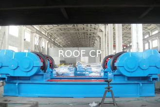 Heavy Duty Welding Rotator Standing For Cooling System In Ship Building Fields