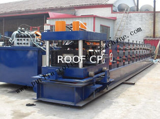 China Hydraulic PLC Control Purlin Roll Forming Machine , Z Purlin Making Machine supplier