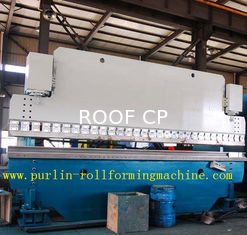 China Automatic PLC Control Hydraulic Bending Machine For Roofing Sheet , ISO / CE Approved supplier