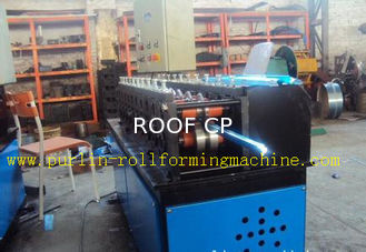 Light Steel C Truss Roll Former Machine Furring Channel / Roof PLC Control