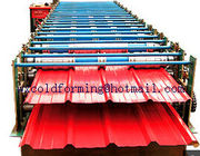 China Double Layer Wall Panel Roll Forming Machine Automatic High Speed have PLC control distributor
