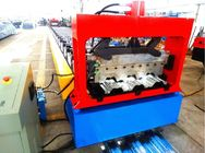 China High Speed Metal Deck Roll Forming Enquipment Color Steel With PLC System distributor