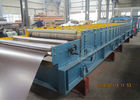 China 235Mpa Feeding Coil 1219mm Width Metal Tile Roll Forming Machine With Stacking Use Panasonic PLC distributor