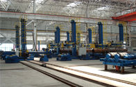 LH Series Column and Boom Welding Manipulator With Safety Ladder in the Wind Tower Productions Line for sale