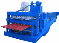 China PPGI Sheet Cold Roll Forming Equipment Japan Panasonic PLC Controller High Efficiency distributor