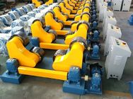 China China 20T Self Aligning Pipe Welding Rollers Tanks Welding Rotator With Remote Control Box distributor