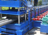 3 Waves Highway Profile Steel Roll Forming Machine For Expressway Guard Bars Use 45Kw Motor and Hydraulic Cutting for sale