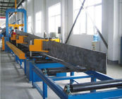 China Steel Plate Cutting , H beam Assemblying ,H Beam Gantry Welding , Flang Plate Straightening , H Beam Production Line distributor