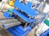 Highway Fence Cold Bending Roll Forming Machine 5 Rollers Leveling Hole Punching System Use Panasonic PLC Control for sale