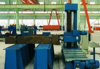 Column End Face Milling Machine for T - beam , H beam ,  Box Column in Welding Production Line Use Milling Head for sale