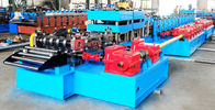 Best Automatic Highway Guardrail Roll Forming Machine With 10 Ton Hydraulic De-Coiler for sale