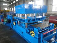 China Imported PLC Control Wayside Guardrail Forming Machine Use Hydraulic Blade Cutting System distributor