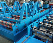 China Glazed Tile Cold Bending Machine Full Automatic Delta PLC Control And Hydraulic Cutting distributor