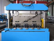 Best Galvanized Floor Deck Roll Forming Machine , PLC Trapezoidal Sheet Roll Forming Machinary for sale