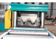 Best 380V , 3 Phase 50Hz Two Wave Guardrail Roll Forming Machine for Highway Guardrails Export to Macedonia