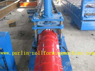 China Glazed Metal Roof Ridge Cap Roll Forming Machine For Cinema Cap Half round Ridge Cap distributor