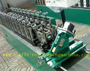 Hollow Runner Metal Stud And Track Roll Forming Machine for T Guide Track Panasonic PLC Control Atos Valve for sale