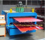 China Automatic Color Steel Cold Roll Forming Machine Sheet Metal Rolling Former for South Africa Customer distributor