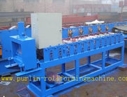 China Roof Ceiling Roll Forming Machine , Omega Channel Roll Forming Machine For Furring Channel distributor