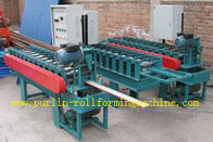 China CNC Automatic Metal Ceiling Roll Forming Machine For Fold and Slit Work Piece distributor