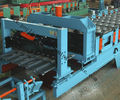Best Glazed Roof Sheet Roll Forming Machine Automatic Hydraulic Glazed Tile Roll Forming Machine / Roofing Tile Process Line