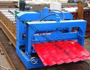 Metal Roof Forming Machine Glazed Tile Cold Forming Machin Color Steel Glazed Roofing Tile Making Machine for sale