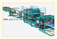 China Economic Continuous Automatic Sandwich Making Machine PLC 1.2 inch Chain distributor