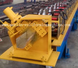 Half-round Seamless Gutter Roll Forming Machine High Speed Chain Transmission 16 Stations for sale