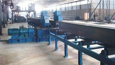 China High Quality H beam Flange Plate Straightening Machine by Press Edge Deformate in Automatic H Beam Production Lineon sales