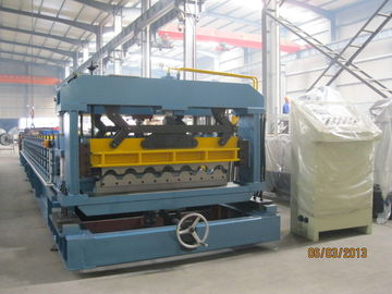 China Standing Seam Profile Cold Roll Forming Machine for Steel Structure Buildingon sales