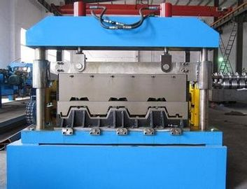 China Metal Floor Deck Roll Forming Machine , Skyscrapers Field Sheet Metal Roll Formeron sales
