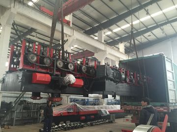 China Auto C&Z Purlin Roll Forming Machine for Light Steel Structure Buildings Exported to KSAon sales