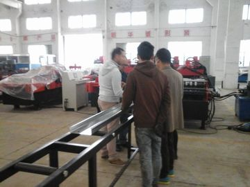 China C / Z Profile Cold Forming Machine Use Metal Wheels Rolling System For 4mm Thickness Plateon sales