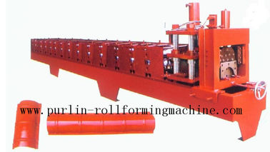 China Color Steel Roof Tiles and Ridge Cap Roll Forming Machine For Theatre / Garden Roofing in the Building Fieldson sales