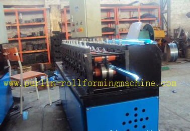 China Light Steel C Truss Roll Former Machine Furring Channel / Roof PLC Controlon sales