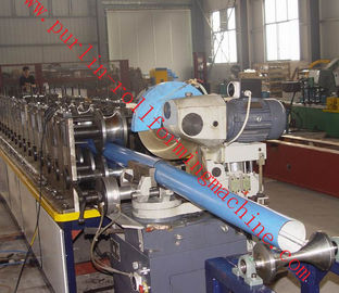 China Downspouts Roll Forming Machine Color Steel Coils For Rainwater Downpipe / Rain Gutteron sales